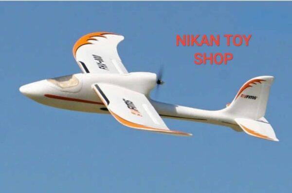 هواپیما کنترلی گلایدر fms fox 800mm