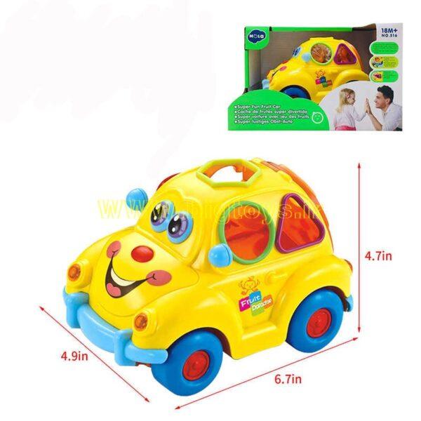 اسباب ماشین موزیکال کودکان هولا تویز HOLA