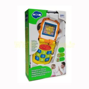 اسباب بازی موبایل تاشو موزیکال هولا تویز مدل 766 HOLA