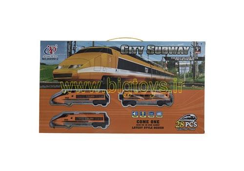 قطار اسباب بازی CITY SUBWAY