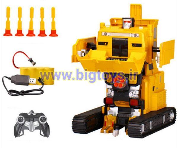 ماشین کنترلی کامیون تبدیل شونده TRANSFORMER ROBOT TRUCK 2821P