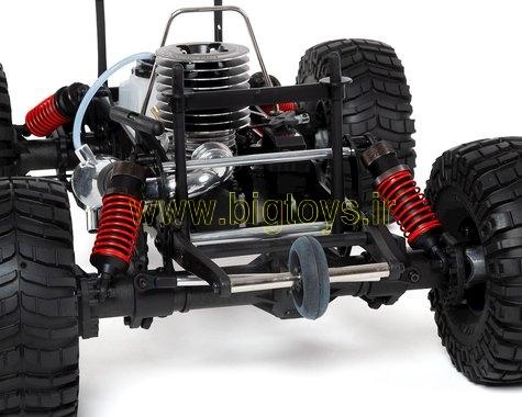 ماشین کنترلی سوختی نیترو کیوشو KYOSHO MAD CRUSHER NITRO 1:8 GP 4WD READYSET