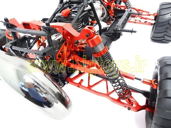 ماشین کنترلی سوختی بنزینی باجا روان ROVAN BAJA 5T RC car 1:5