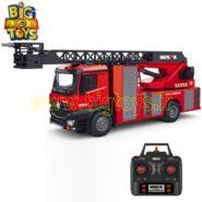 ماشین آتش نشان فلزی کنترلی مقیاس 1:14 HuINa 1561 Remoted