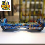 اسکوتر برقی 6.5 اینچ بالانسر دار طرح آبی رگه دار اسمارت بالانس SMART BALANCE