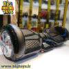 اسکوتر برقی 6.5 اینچ بالانسر دار طرح مشکی رگه دار اسمارت بالانس SMART BALANCE WHEEL