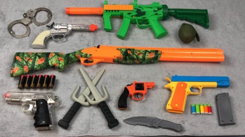 انواع تفنگ اسباب بازی